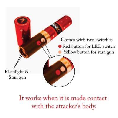 Bling Lipstick Stun Gun
