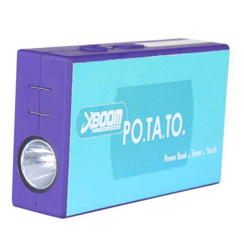 POTATO- Power bank+stun gun+Torch