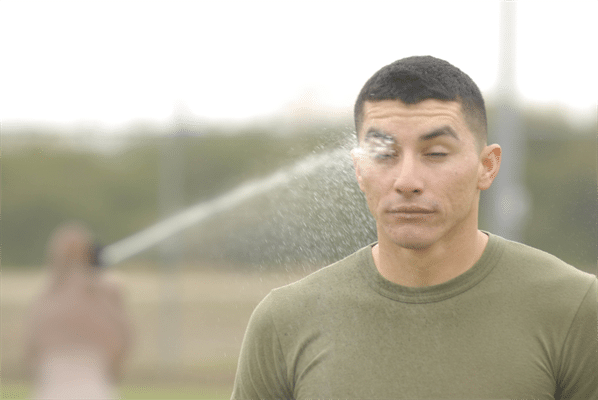 Physical Effects of Pepper Spray: What happens to someone who gets sprayed?