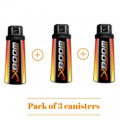 Advanced Pepper Spray (Pack of 3)