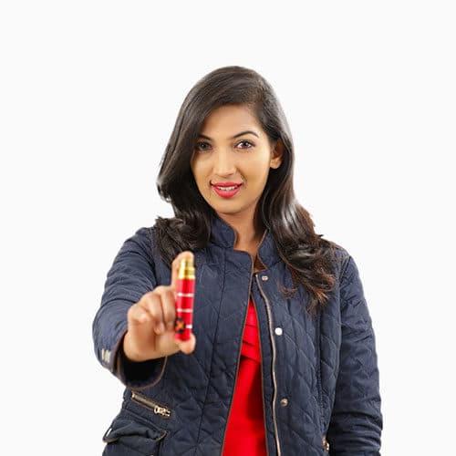 Lipstick Pepper Spray 2 3