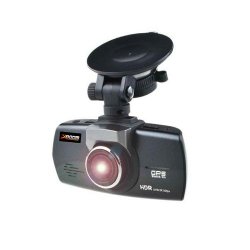 GPS dash cam side view