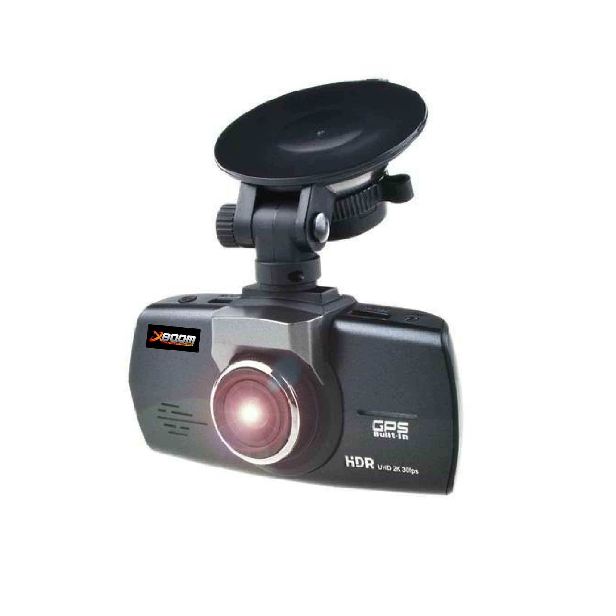 GPS dash cam side view