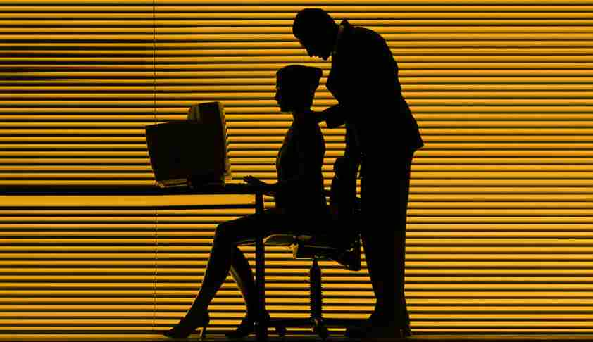 Sexual harassment of women at a workplace