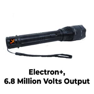 Electron stun gun