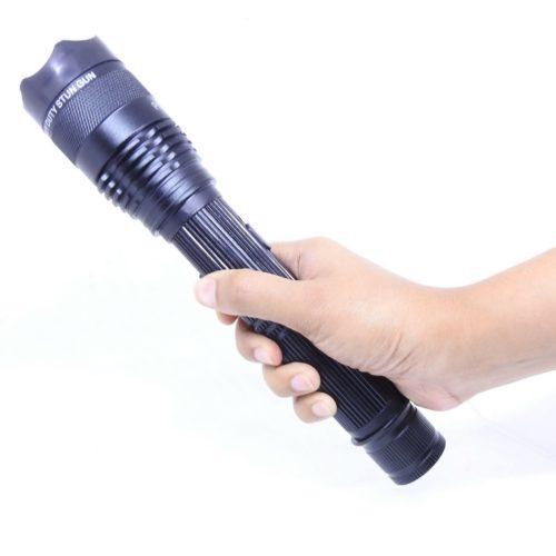 Electron plus : stun gun cum flashlight