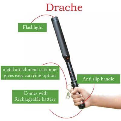 Drache Stun Gun Baton