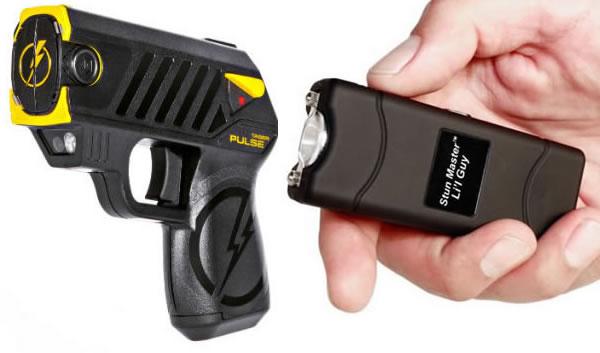 Stun gun and Taser