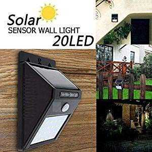 Solar wireless security