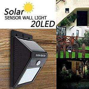 Solar wireless security