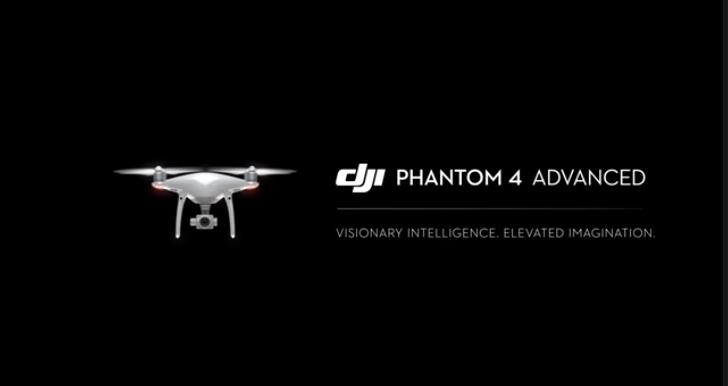 phantom 4 advanced official video banner