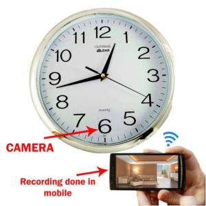clock camera