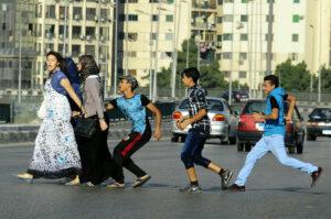 Women harassment on road