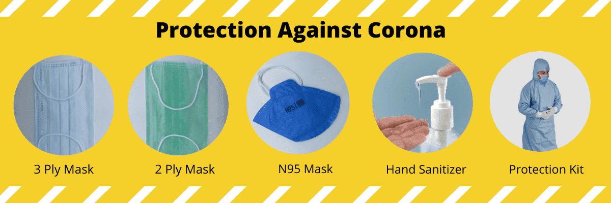 Protection against Corona