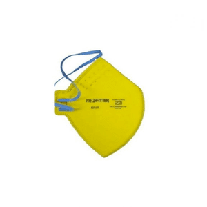 FRONTIER GRIT Yellow Face Mask