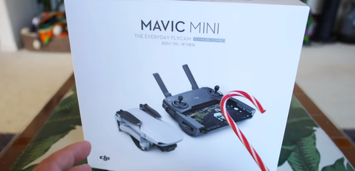 Mavic Min Fly more unboxing