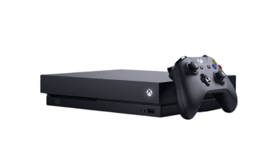 Xbox One X Console, 1TB, (Black) Unboxed