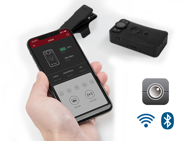 Bluetooth and Wi-Fi-enable drive pro body 30