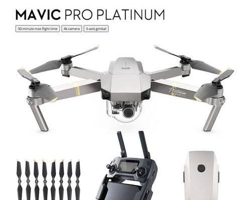 DJI Mavic Pro Platinum Fly More Combo1