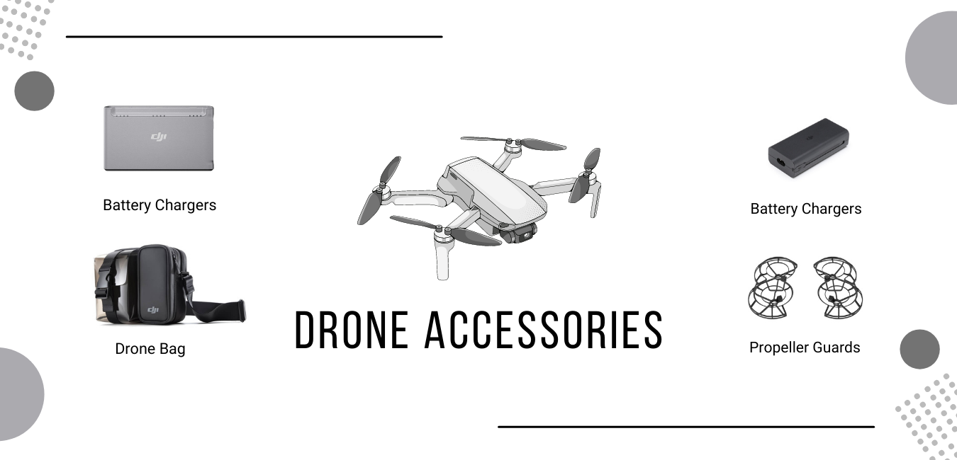 Drone Accessories category Page