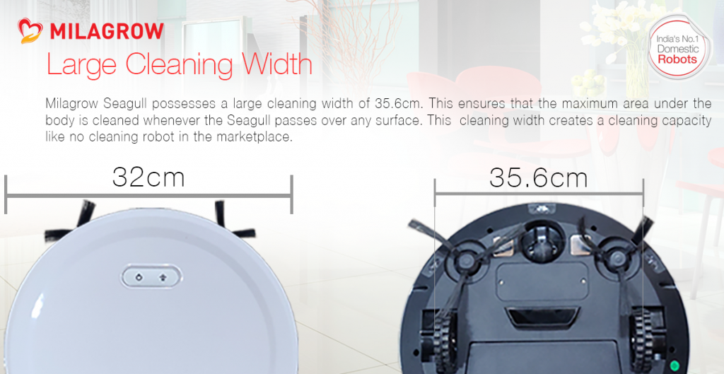 Milagrow Seagull Prime - wet and dry vacuum cleaner